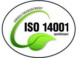 Umweltmanagement - ISO 14001 zertifiziert